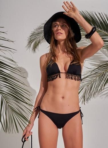 Morhipo Beach Püsküllü Bikini Siyah